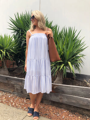 Mollie Stripe Dress