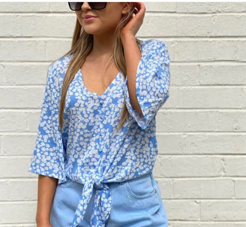 Periwinkle Top