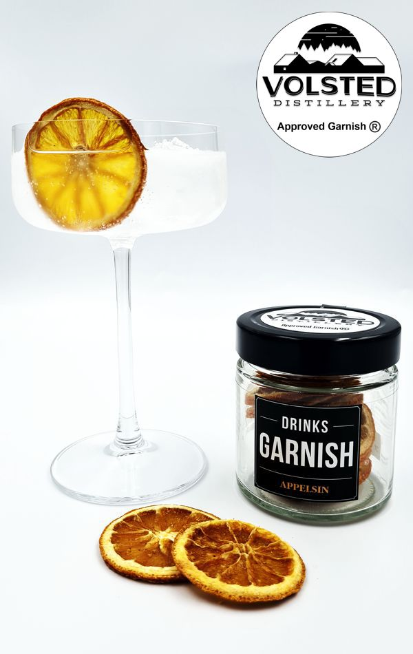 Garnish Appelsinskiver
