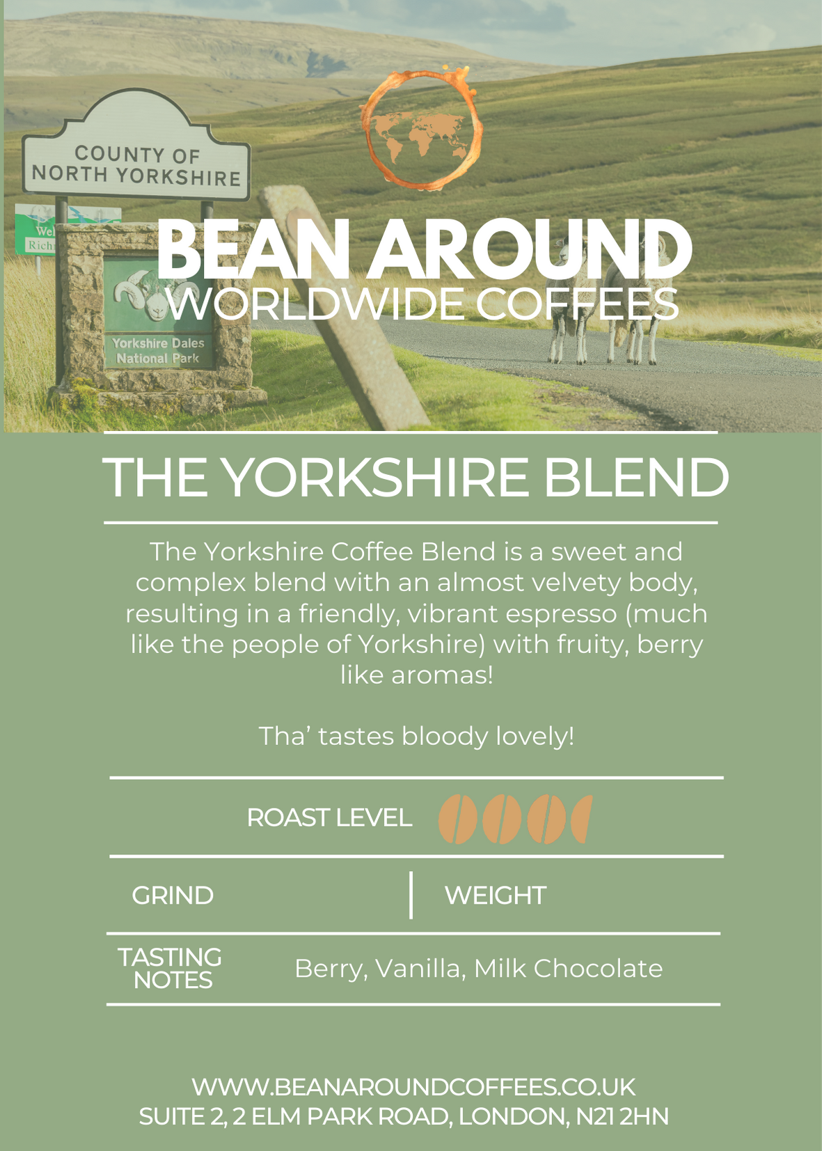 The Yorkshire Coffee Blend