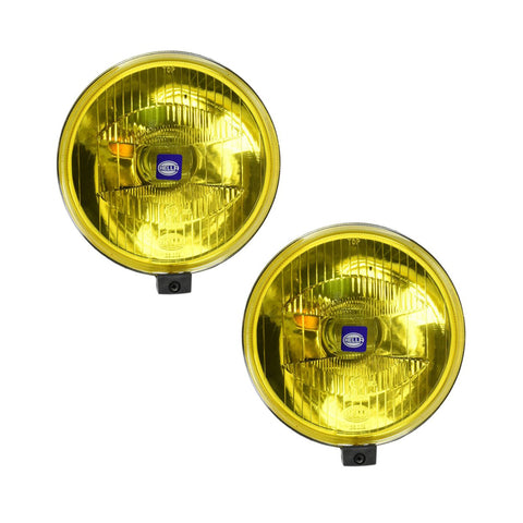 Hella 500 Series Halogen Driving Amber Lamps