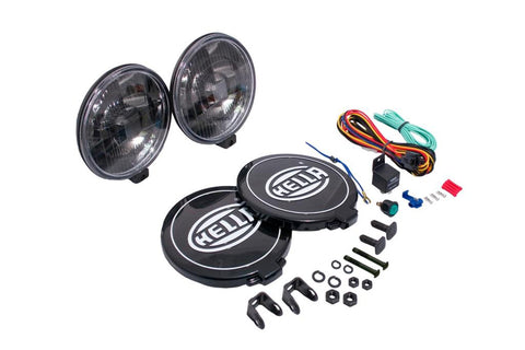 Hella Black Magic 500 Series Halogen Driving Lamp Kit