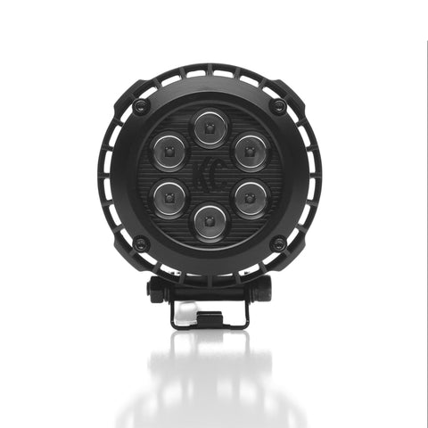 KC HiLiTES 300R-LZR 4in. Round LED Light 24w Spot Beam