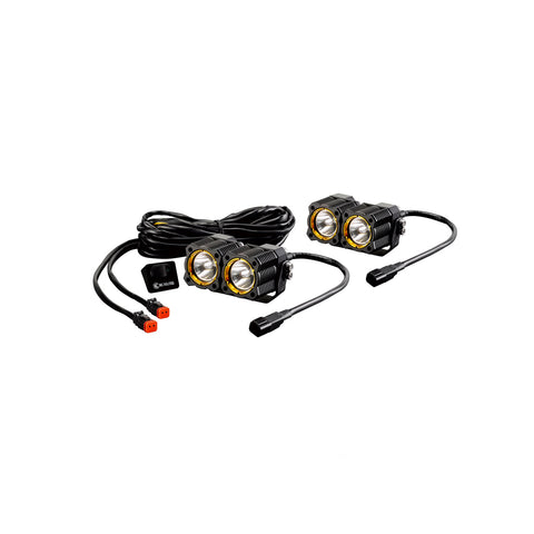 KC HiLiTES FLEX Dual LED Light 20w Spot or Spread Beam
