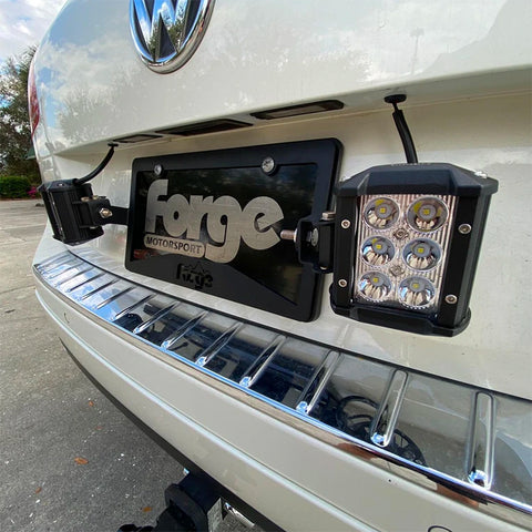 License Plate Light Bracket