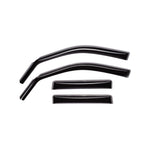WeatherTech 2013-2017 Subaru Crosstrek Front and Rear Side Window Deflectors - Dark Smoked