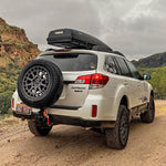 Rigid Armor Spare Tire Hitch Carrier - Subaru Outback 2000-2020