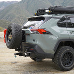Rigid Armor Spare Tire Swing Out Hitch Carrier - Toyota RAV4 2019-2021
