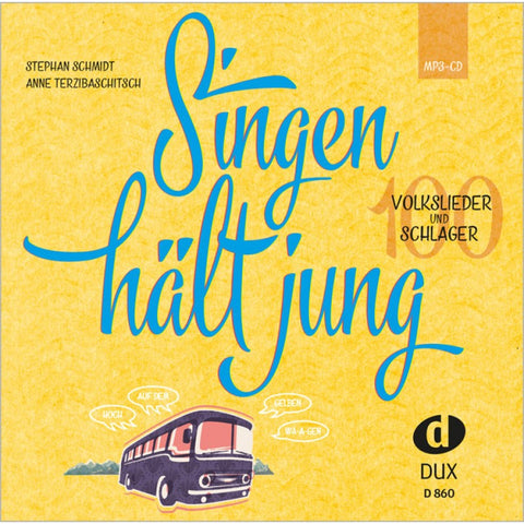 Singen hält jung - MP3 CD