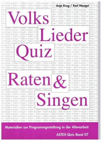 Volkslieder Quiz Band 1