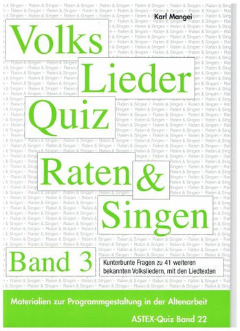 Volkslieder Quiz Band 3