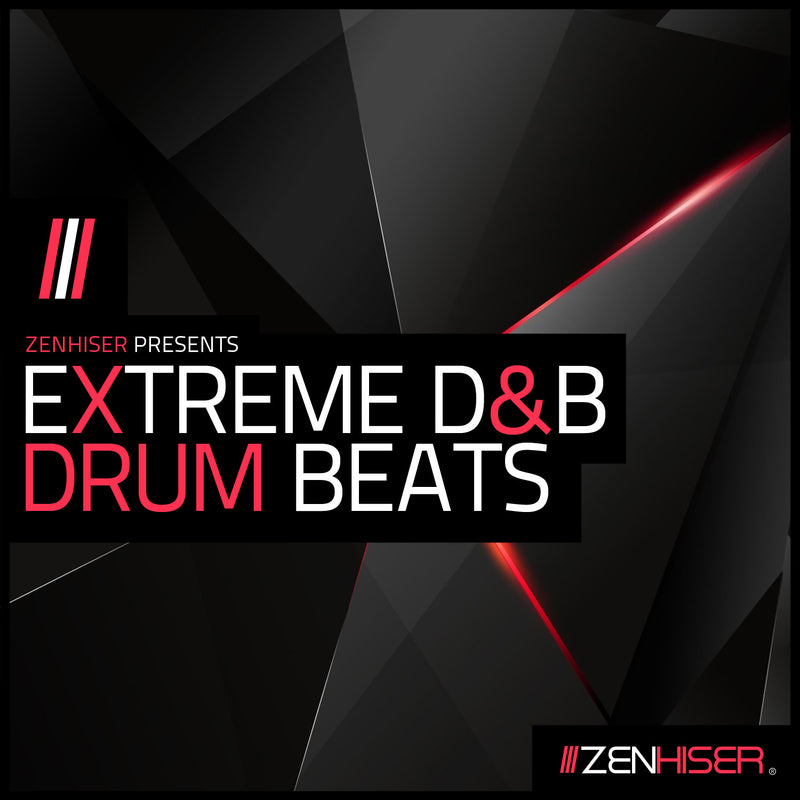Extreme D&B Drum Beats