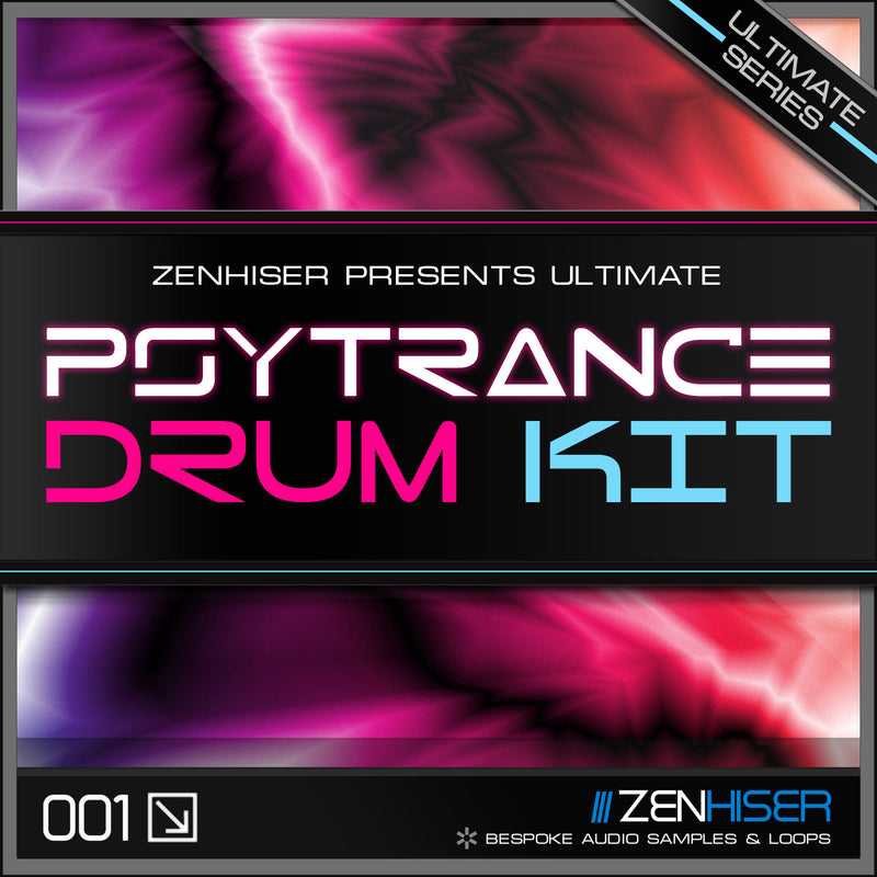 Ultimate Psytrance Drum Kit
