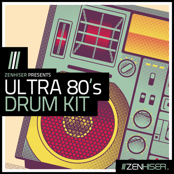Ultra 80's Drum Kit