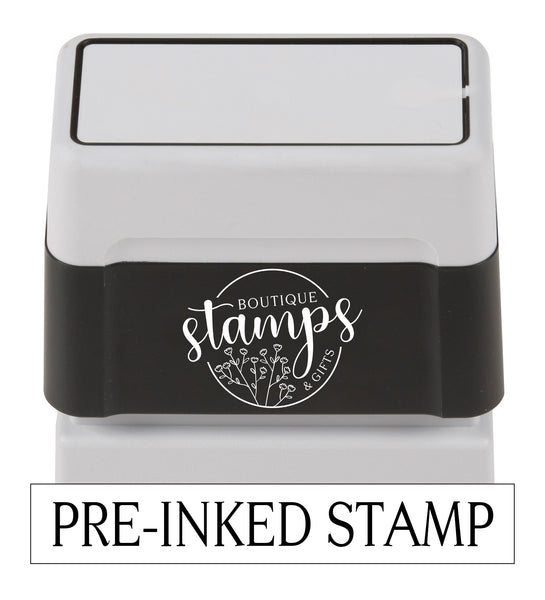 Fall Tree Address Stamp