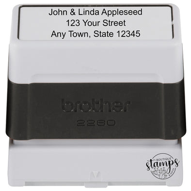 Medium Pre-Inked Address Stamp