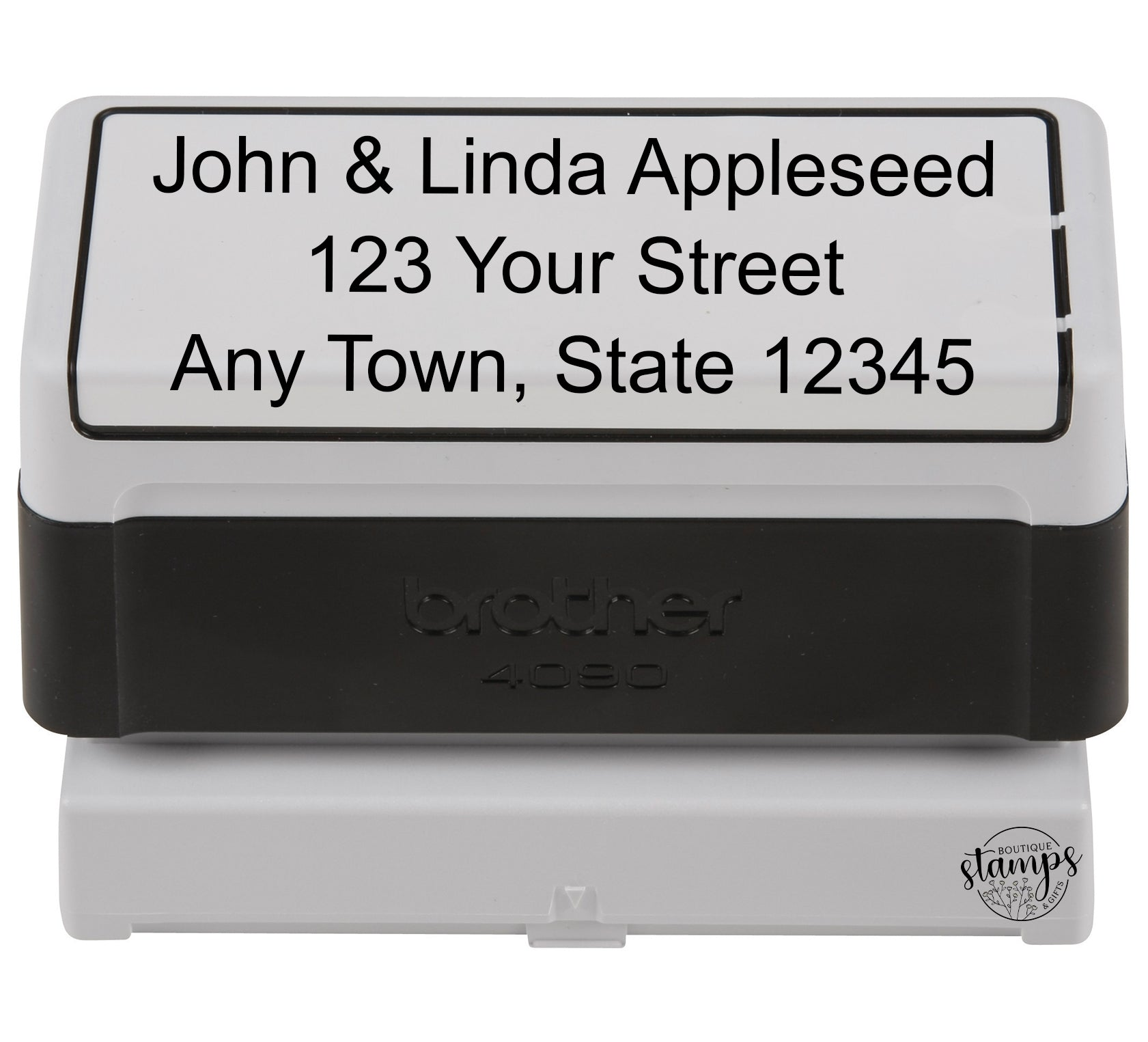 Extra Large Pre-Inked Address Stamp