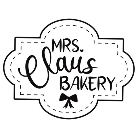 Mrs. Claus Bakery Stamp