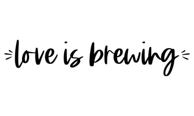 Love is Brewing Wedding Stamp