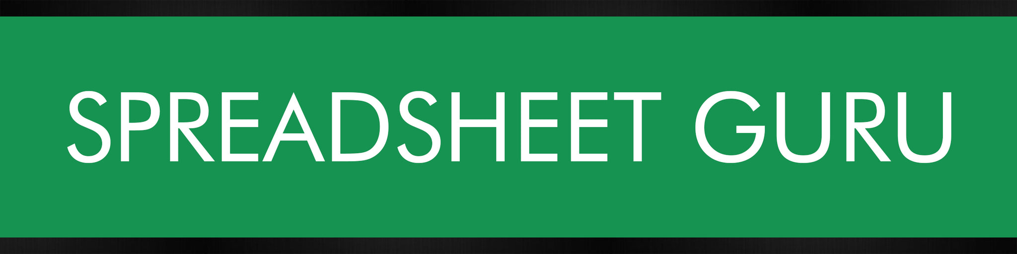 Spreadsheet Guru Desk Plate