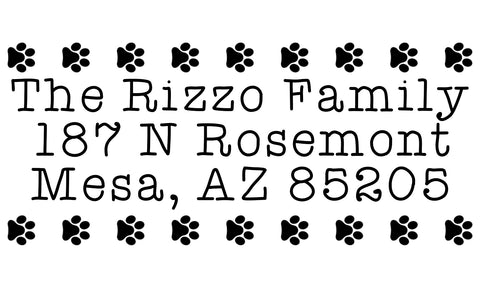 Rizzo Address Stamp
