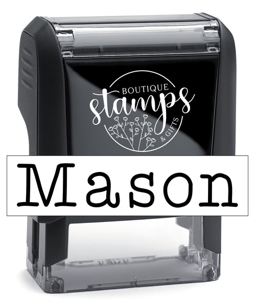 Self-Inking Kids Name Stamp