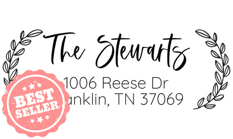 The Stewarts Address Stamp