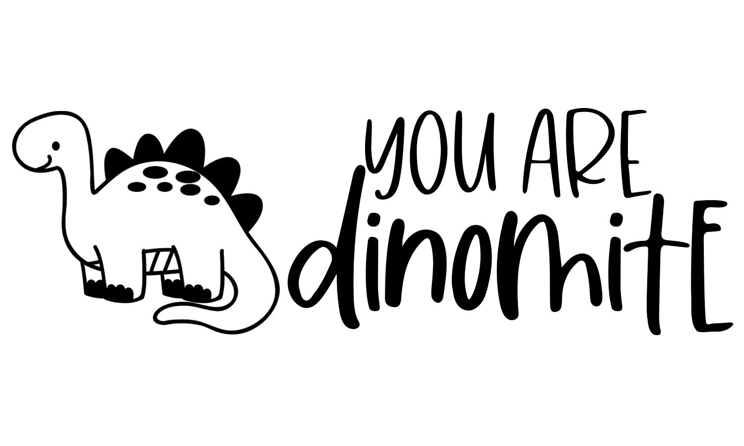 You are Dinomite Teacher Stamp
