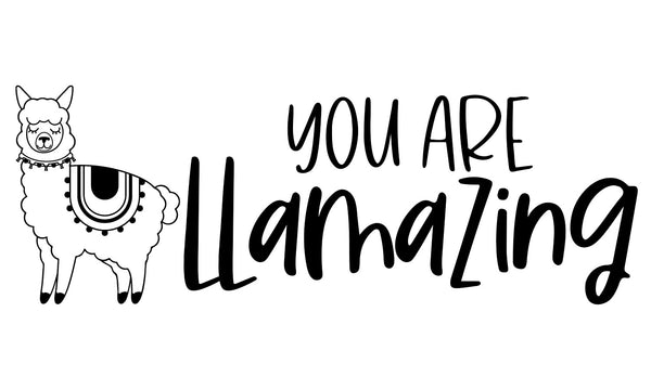 You are Llamazing Teacher Stamp