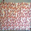 Large luxury Artificial Rose Flower Wall
