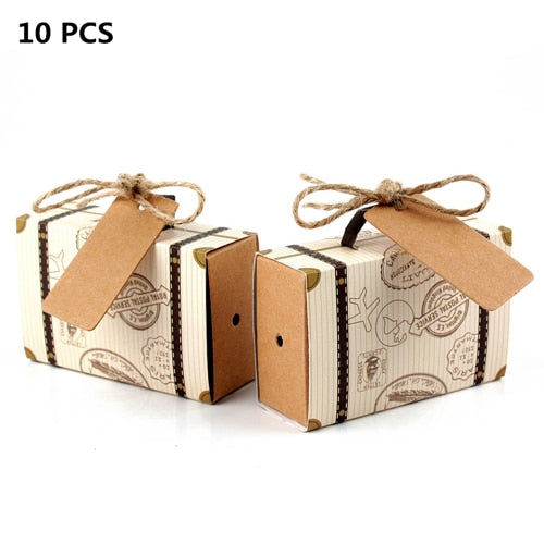 Wedding Bride Party Favors Paper Gift Box Bag