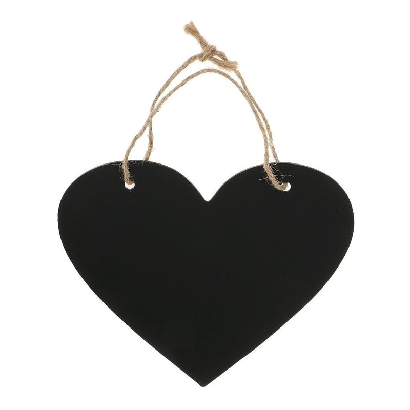 Heart shaped Wedding Countdown Hanging Bard