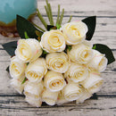 18 Head Artificial Rose Flowers