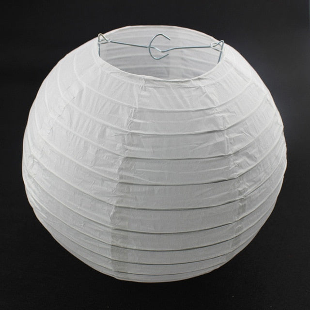 10pcs 6, 8, 10, 12, 14, or 16 Inch Paper Lanterns