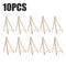 10pcs set of Wooden Mini Easel Stands