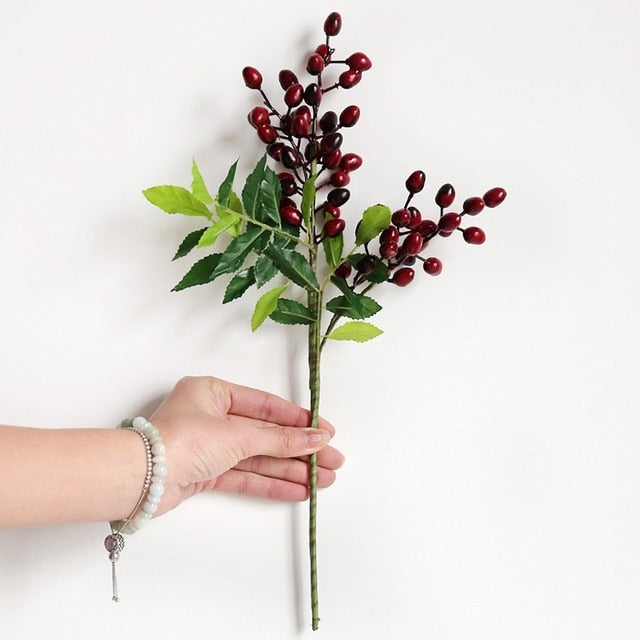 Olive Fruit Branch Bouquet Greenery Flower