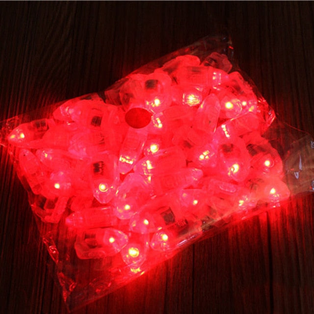 50pcs Very Bright LED Balloon/Table Centrepiece Light - VintageAndRusticWeddings