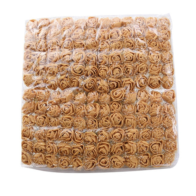 72 or 144 Pieces Rose Flower Heads