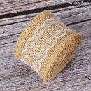 Burlap Ribbon Vintage Wedding Accessories