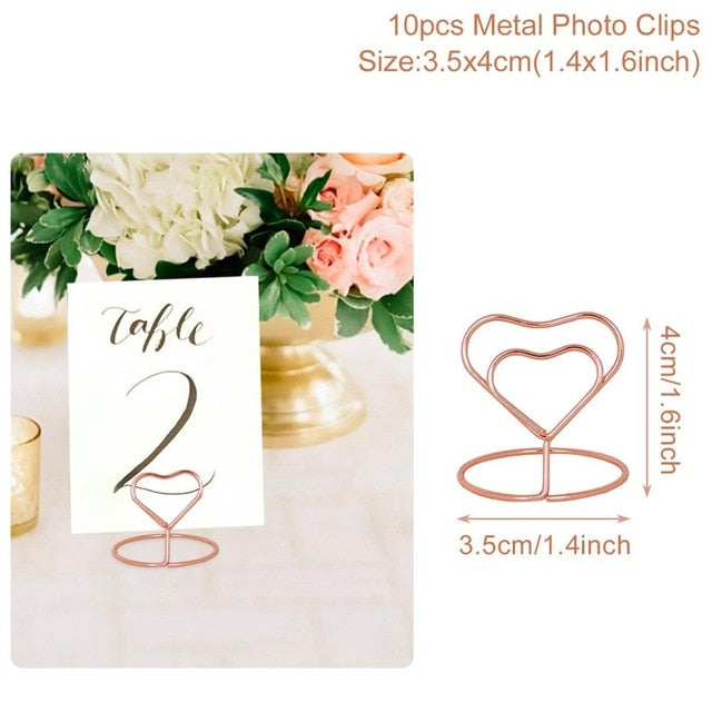 Heart Shape Photo Clip