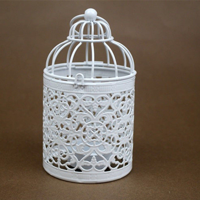 Hot Romantic Birdcage Candle Holder