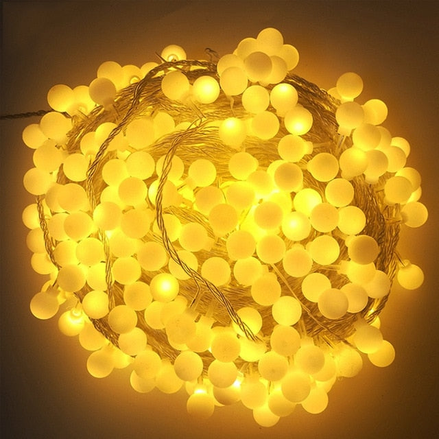 Globe LED String Light