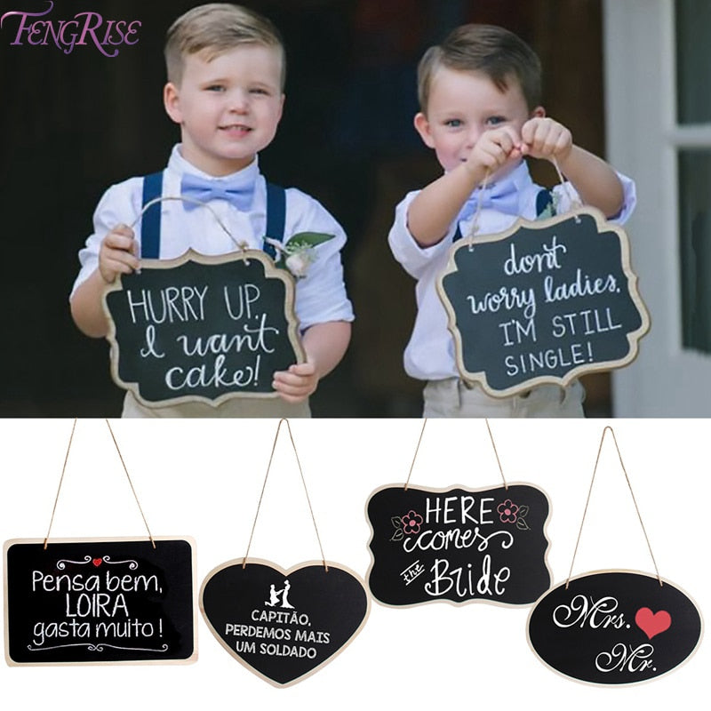 Mini Wooden Chalkboard