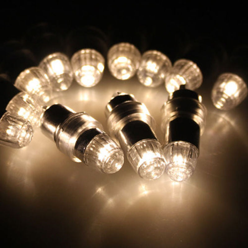 Mini RGB 12x LED Party Balloons Lights - VintageAndRusticWeddings