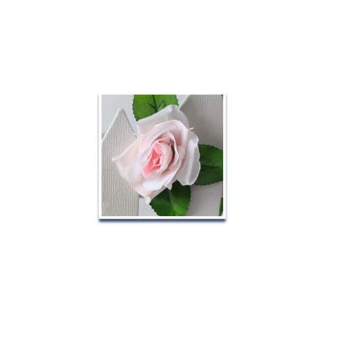 230cm/ 91in Silk Rose Artificial Flower Garland