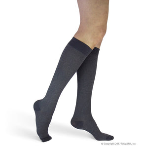 WOMENS SIGVARIS WELL BEING - MICROFIBER SHADES COMPRESSION SOCKS