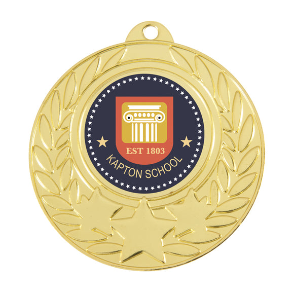 Budget Medal - Star with wreath design