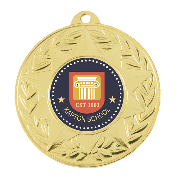 Budget Medal - Star design