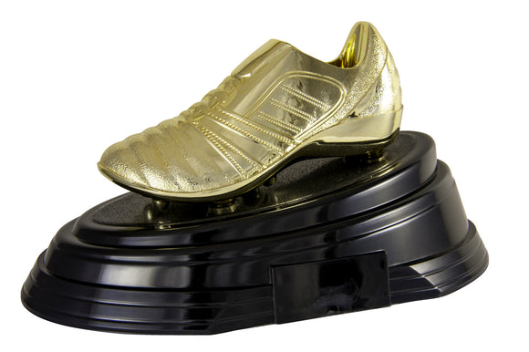Golden Boot on Platform