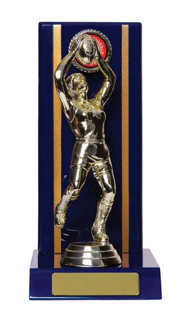 Rectangle Backstand Timber Trophy